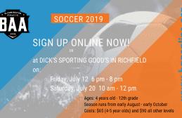Soccer – Boys & Girls