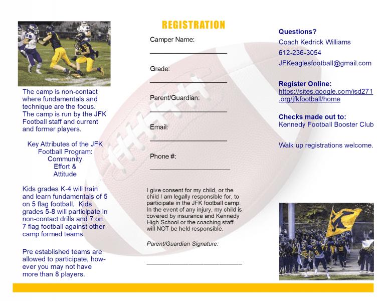 Football 2019 - Bloomington Athletic Association - BAA