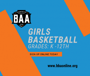 2019 Girls Basketball Registration