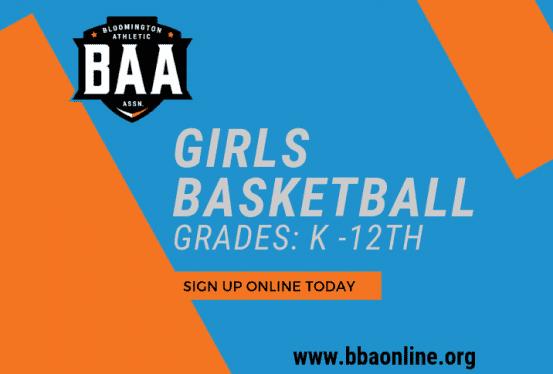 2019 Girls Basketball Registration